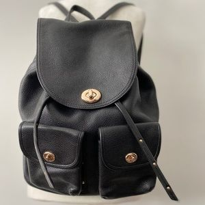 Coach Billie Backpack Black
